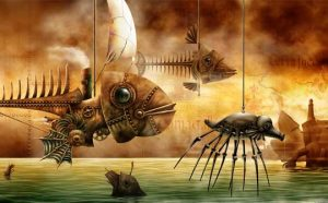 Ilustración Concept Art. Sea machines. Illustration Concept Art. Sea machines.