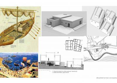 PUERTO FENICIO TOSCANOS - MUSEO MUVVEL, PORT Phoenician TOSCANOS - MUVVEL MUSEUM