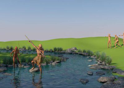 Paleolítico Superior Museo MVVEL, Upper Paleolithic MVVEL Museum
