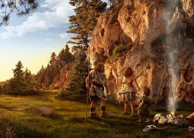 Vida Neandertal, Neanderthal life