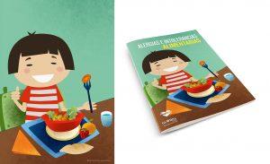 Ilustración. Alimentación saludable. Illustration. Healthy nutrition