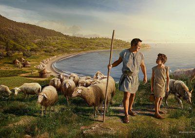 Pastores del Neolítico, Neolithic shepherds