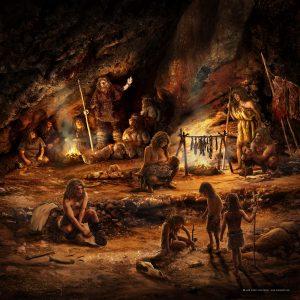 el hogar de los neandertales, home of neanderthals