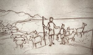Pastores del Neolítico, Neolithic shepherds