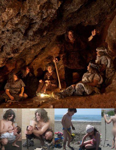 03-retoque-neandertales-en-torno-al-fuego