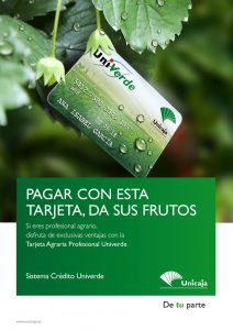 Sistema de crédito Univerde Unicaja,Univerde credit system Unicaja